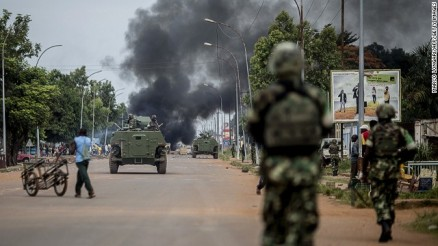 Two protesters fatally shot by foreign peacekeepers in Bangui. (CNN)