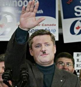 Fascist Stephen Harper.